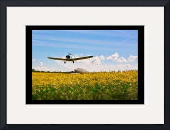 Crop Dusting by D. Brent Walton