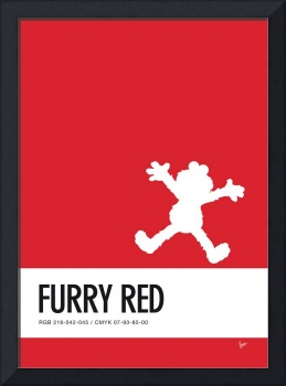 No30 My Minimal Color Code poster Elmo