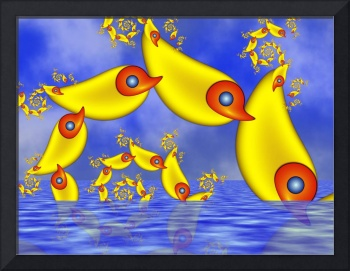 Fractal Flying Duckfishes