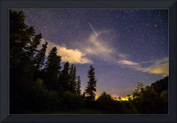 Rocky Mountain Falling Star