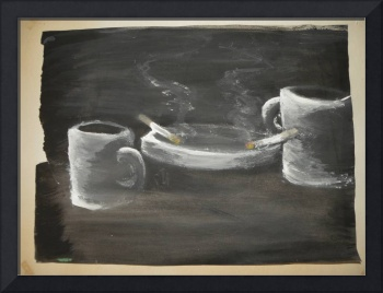 coffee for two with border
