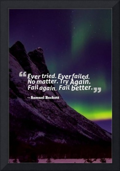 Inspirational Timeless Quotes - Samuel Beckett 2
