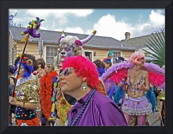 St. Anne Parade on Mardi Gras Day #1