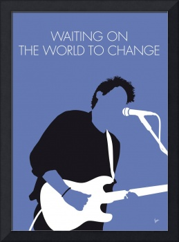 No251 MY John mayer Minimal Music poster