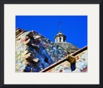 Church Tower and Walls by John Corney