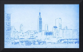 BluePrint of New York City