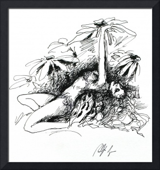 Fairy Love (ink)