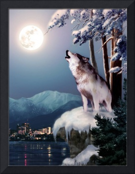 Wolf on the Doorstep of Civilization