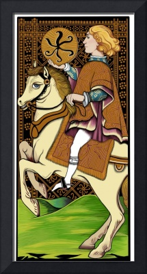 French Tarot Card