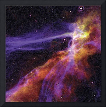 Cygnus Loop Supernova Blast Wave