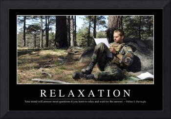 Relaxation: Inspirational Quote and Motivational P