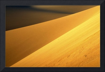 Abstract Death Valley Dunes