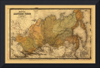 Map of Russia (1868)