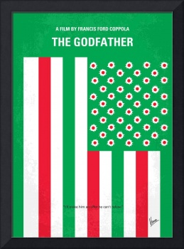 No028 My Godfather minimal movie poster