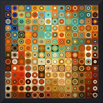 Circles and Squares #1- Modern Art