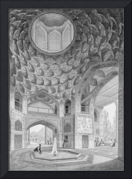 Pavilion of the Eight Paradises, in Isfahan