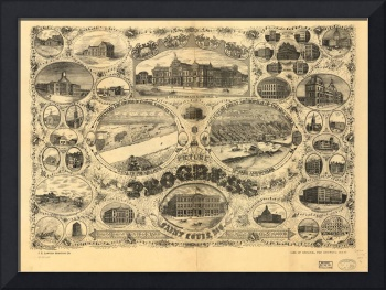 1884 The Progress of the City of St. Louis, MO