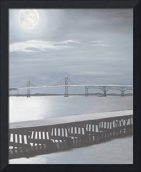 Bay Bridge at Night 2