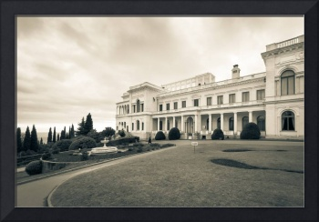 Livadia Palace where Yalta Conference took place
