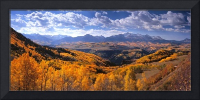 Panoramic - San Miguel Mountains Colorado