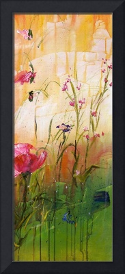 Wildflowers Part 1 - Original Painting by Ginette
