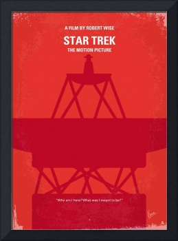 No081 My Star Trek - 1 minimal movie poster