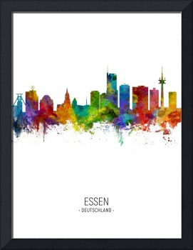 Essen Germany Skyline