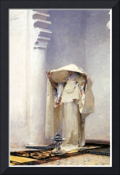 Fumee d' ambre gris (Tangiers) by John Sargent