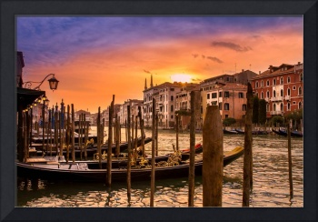 Sunset in Venezia
