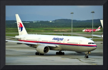 Malaysia B-777, Old Livery