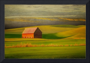 Barn on the Palouse