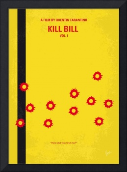 No048 My Kill Bill -part 1 minimal movie poster