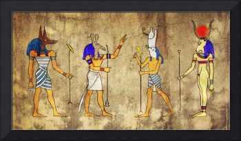 Egyptian Gods And Goddess