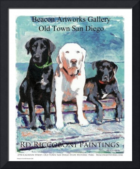 Three Dogs Gallery poster