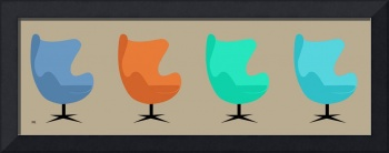 Egg Chairs No Cat