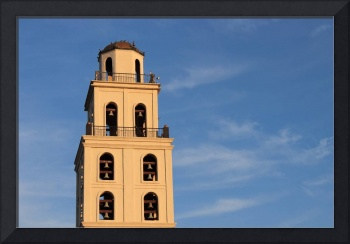 Belltower at Sunset 1