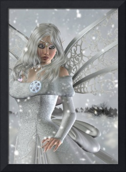 Winter Fairy in the Snow