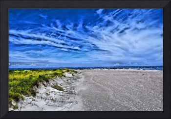 Colorized Beach Scene 00201