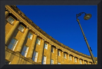 Sunset at the Royal Crescent
