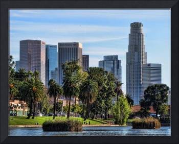 LA Skyline from Echo Park