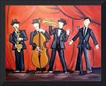jazz quartet - instruments - big band