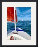 Sailing on Nantucket Sound by Christopher Seufert