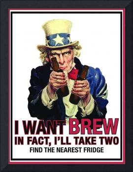 Uncle Sam - I want brew