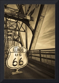 Route 66 Chain of Rocks Bridge