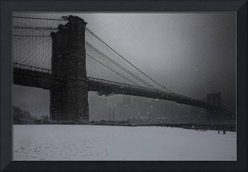Brooklyn Bridge Blizzard