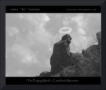 The Praying Monk - Camelback Mountain - Poster Pri
