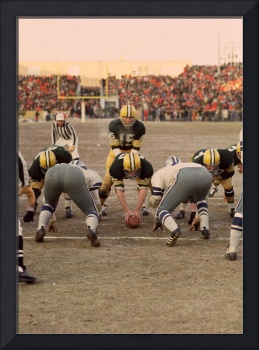 Bart Starr at the goal line