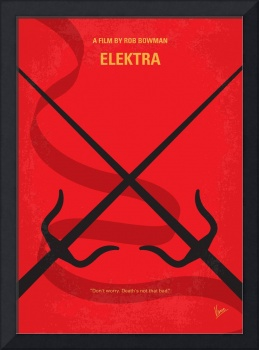 No060 My Elektra minimal movie poster