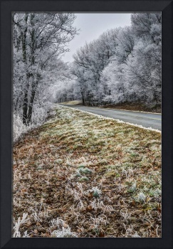 Ice covered Parkway
