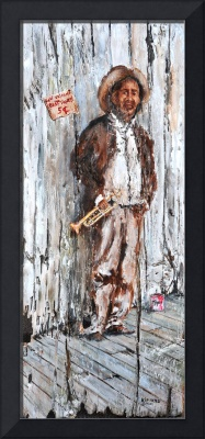 OLD MUSICIAN  LARRY 'KIP' HAYES NEW ORLEANS